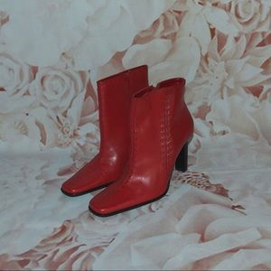 Bruno Valenti Alessa Leather Booties